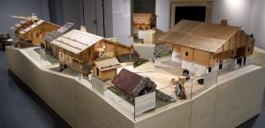 Maquettes et architecture des chalets typiques du Val de Thônes et des bâtiments rythmant la vie des habitants